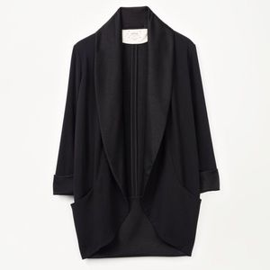 Aritzia Wilfred Chevalier Jacket with Satin Lapels